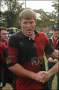 Dave Hales during his time with Coffs Harbour.