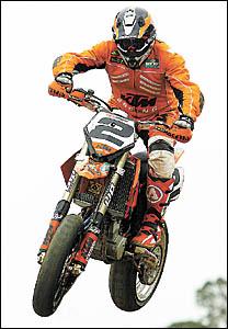 Motorex KTM rider Stuart Bennett will be in action at Raleigh International Raceway this weekend