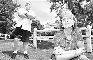 Sandy Weeks, and Keith Dorrell, NSW Nurses? Association representative.
