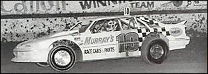 GREAT MEMORIES:Grenville Anderson behind the wheel.
