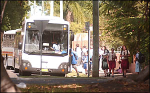 FOR THE KIDS: A former bus driver says overcrowding on buses is an accident waiting to happen.