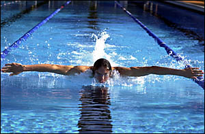 HEADEDNORTH: Lucas Wise is off to Brisbane to combine study at the QUT with swimming at the elite Queensland Academy of Sport