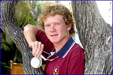 Matthew Strike has made an immediate impact in his triathlon career,