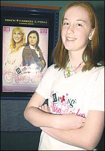 Lismore teenager Charlotte Kippax thinks her cousin Saskia Burmeister is fantastic in Hating Alison Ashley.