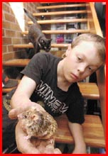 ELEVEN-YEAR-OLD Rodd Whicker. Police are concerned for his safety. Picture: NEVILLE MADSEN
