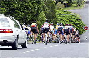 FLASHBACK: A man was injured while riding on the Pacific Highway last Thursday