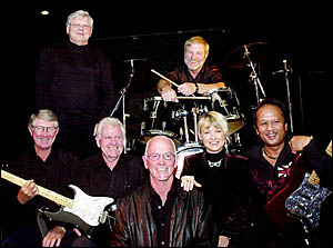 The Astranotes held a memorial reunion concert for late guitarist Wilf Stephens on Thursday.