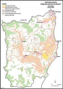 The Northern Rivers farmland protection project
