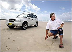 TWEED Coast Fishing Clubs Association vice president Warren Morgan