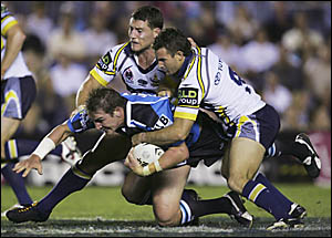 Luke Covell got a shock when phoned by the New Zealand coach asking if he would be interested in the Anzac Test squad.