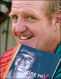 HIS LIFE STORY: Leeville author Geoff McClelland with his book, Changing Sux.