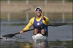 CROATIA-BOUND: Byron Bay paddler David Rhodes faces an anxious wait this week. Picture: KAYAKING AUSTRALIA