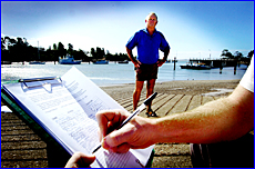 John Sowter is calling on residents to get behind a petition opposing the removal of Gladstone?s favourite boat ramp.