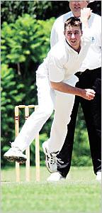 Bellingen cricketer Justin Gilbert, claimed four major awards, including the big one ? the Bill Rae medal.