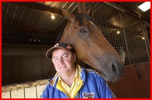 Toowoomba trainer Kevin Kemp, who today lines up with Tellem. Picture: BEV LACEY