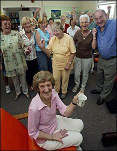 FOND FAREWELL: Longest-ever serving volunteer at Coolangatta Special School Joan Gilbert is retiring after 23 years.