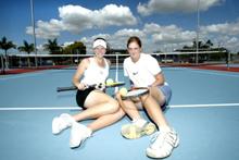 Shannon Golds (left) and Kelli Zahmel