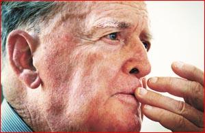 Sir Joh Bjelke-Petersen ? Queensland?s longest-serving Premier. Picture: KEVINFARMER