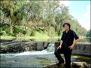 Richmond Valley Council engineer Damien Grace, who is waiting for final approval to demolish the old Norco weir at Casino.