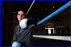Gladstone boxer Doug May can?t wait to return to the ring