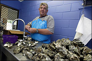 It?d be nice if we had some help for the Tweed oyster industry, was the feeling of oyster grower Gary Kirkham.