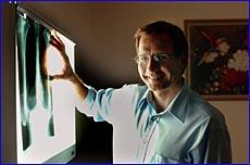 Visiting Brisbane haemato-oncologist Andrew Nicols visits Gladstone fortnightly