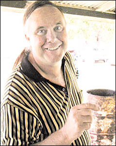 Mystery surrounds the death of Nimbin indentity, George Morris and his brother Peter, found dead in a burnt-out car.