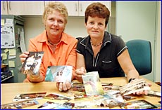 Gladstone Mater Hospital manager Pam Zions and operating nurse Julie Gudgeon have memories of the Solomon Islands