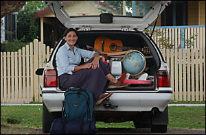 Liza Bloomer gears up for her fundraising ?car-boot? sale at the Grafton Show- grounds this Sunday.