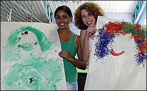TWIN Towns PCYC Girlfriend Program participants Talisah Noter, 17, and Holly Fugar, 21, agree that the program is worthwhile fo