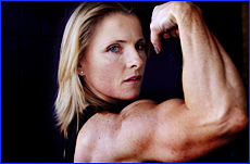 Sharon Clough has become one of Queensland?s best-known body-builders since taking up the sport four and a half years ago.