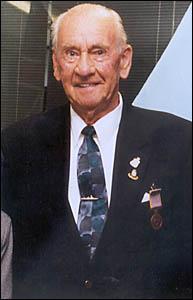 FAREWELL:The late Jack Harris.