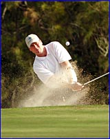 Coolum professional David Podlich was among four players to share the honours at the pro-am at the Calliope Country Club