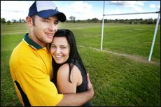 Ben Lorraway and Erin Robertson
