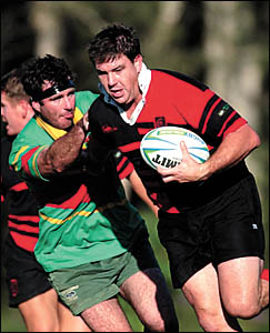 Paul Gooley was one of Dorrigo?s major adversaries as Coffs Harbour maintained their undefeated record in Mid North Coast Rugby
