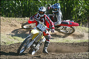 CRAIG Bishop, of Carrara, in action on his Suzuki 250 four-stroke during the second round of the Murwillumbah District Motorcyc