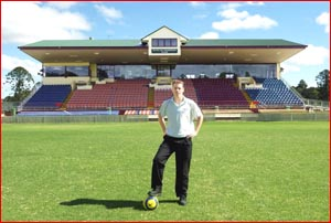 Raiders president Trent Donovan ponders the club?s direction in search of a new venue. Picture: DEBBIE DRUCE