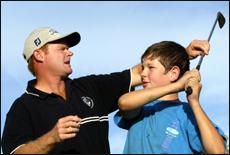 Doug Gardner wants to get more kids into golf.