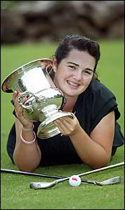SAMANTHA Ferguson shot her way to victory in CoolangattaTweed?s ladies championship yesterday.