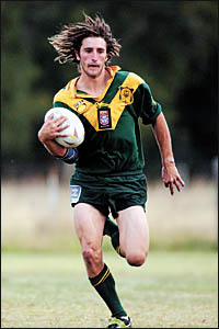 Adam McCarthy scored four tries in Orara Valley?s demolition job on Macleay Valley at Coramba Sportsground yesterday.