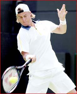 Lleyton Hewitt is the lone Australian hope wherever he plays.  (AAP Image)