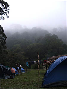 THE campsite at Eora Creek where many people who walk the Kokoda Track report having haunting dreams. It was a place of extreme