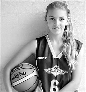 Kororo Primary School?s NSWbasketball representative, Brittney Ainsworth.