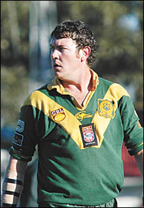 Comet turned Axeman . . . Alan Jones will be looking for a big peerformance against his old club at Coramba tomorrow.