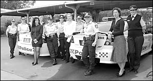 Women in uniform . . . there are 28 policewomen, and five detectives which make up the female contingent of the Coffs/Clarence