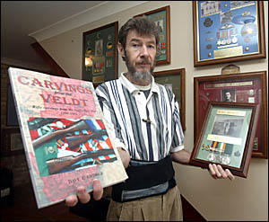 Kingscliff RSL sub-branch member Dave George has produced a pictorial history of the Boer War, highlighting the unusual habit s