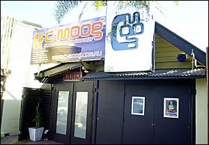: The C-Moog nightclub in Byron Bay.