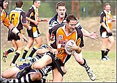 Wallabys lock forward Adam Hamilton is a key figure in his side?s campaign