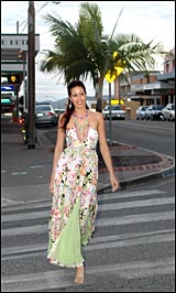 Mayumi Luff will be at the Sothertons Fashion Awards preliminary judging at the Gladstone PCYC tonight.