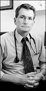 DIAGNOSIS: Ballina GP Dr Christopher Jambor warns of an exodus of Northern Rivers medical staff.